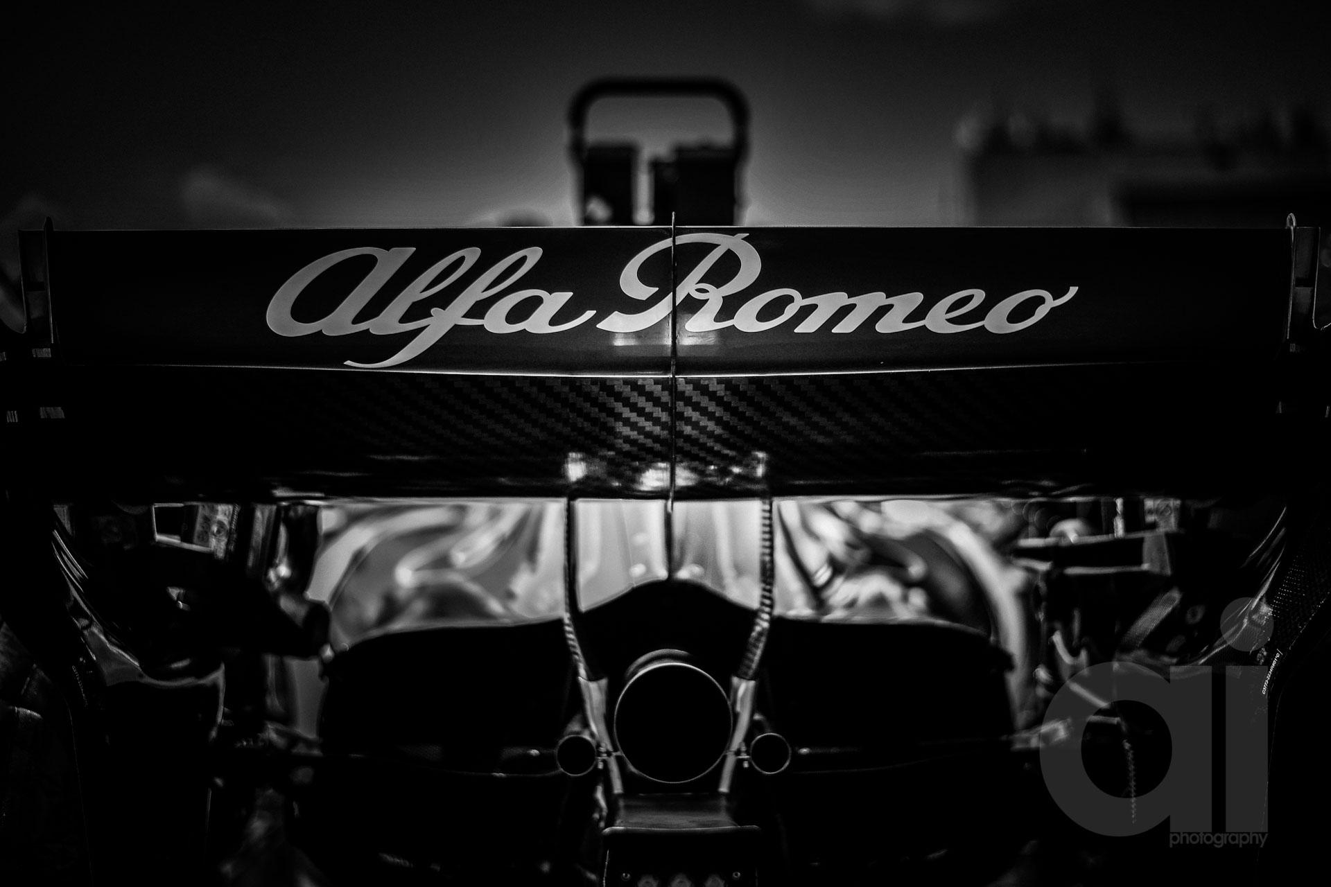 Formula 1 season 2018 in monochrome