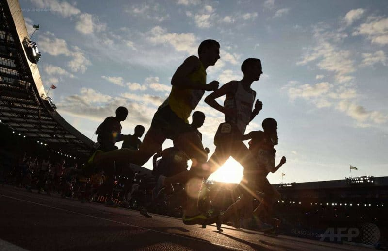 10,000 meters race