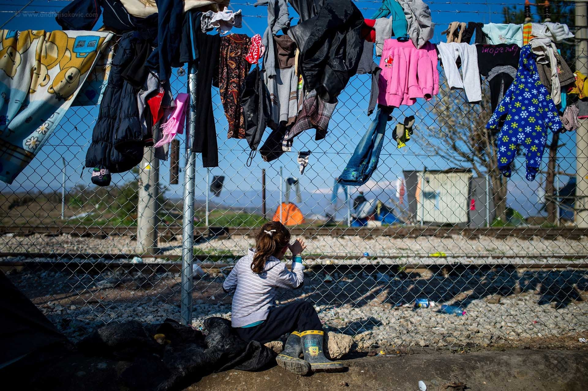 Forgotten in Idomeni